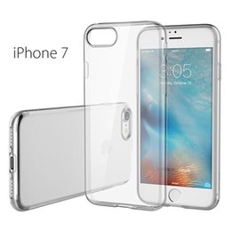 Wholesale For Iphone S plus SE transparent TPU Gel Crystal Clear soft Silicon Case Back Cover For Samsung galaxy S7 edge S5 s6 EDGE iPhone S