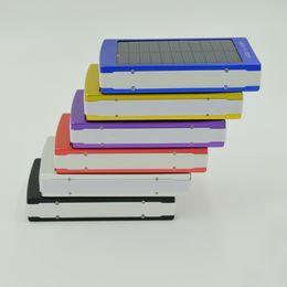 30000mAh Портативный Солнечное зарядное устройство двойной порт USB Внешняя батарея солнечная панель питания Бесплатная доставка банк с розничной коробкой от Поставщики солнечная панель бесплатная доставка