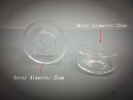 Wholesale Quartz Dish for Titanium Hybrid Ti Qtz Titanium Nai Replacement Quartz Dish Highly Educated Quartz Hybrid Nail Bongs