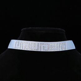 Fashion Wholesale Retro Snaker Shape Rhinestone Crystal Sticked Satin Ribbon Choker Necklaces With Lobster Clasps Free Shipping