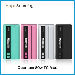 Wholesale Original Smok Quantum W TC Box Mod Over The Air OTA Technology Convenient Wireless Firmware Upgrade Trigger Style Fire Button VS rx200s