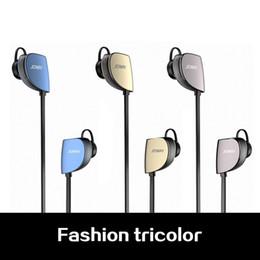 Promotion bruit bleu annulation Haute qualité Joway H07 écouteurs Bluetooth sans fil noir / gris / or / bleu stéréo sueur anti-bruit annulation avec forfait au détail