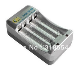 Wholesale 100pcs Folding US Pin Plug AA AAA Battery Charger Rechargeable Pack AC V V