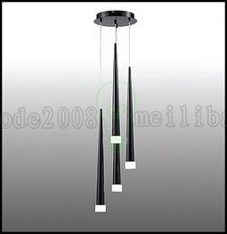 Wholesale Slim LED Multi Light Pendant Glass Asparagus Ceiling Lamp Fixture Bar Lighting LLWA239