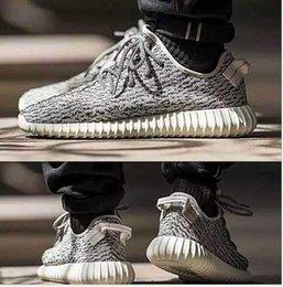 Fábrica al por mayor zapatos de Kanye coco Zapatos negros grises mujeres de los hombres zapatillas zapatos informales La mejor venta de botas calientes desde mejores botas de las mujeres al por mayor fabricantes