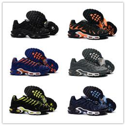 Wholesale Sports Footwear Brands - Wholesale 2016 good quality Plus TXT TN Men's Black brand best Running Sport Footwear Trainers air Shoes