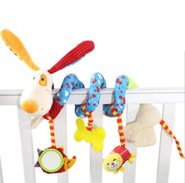 Infant Toys Baby Crib Revolves Around Bed Stroller Playing Toy Crib Lathe Hanging