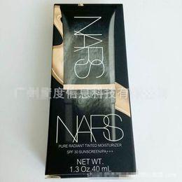 Wholesale Latest NARS Liquid Foundation ml Sun Block SPF30 Pure Radiant Tinted Moisturizer Concealer DHL Free