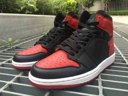 Wholesale Ships out within days Drop Shipping Retro OG High Banned Bred For Men Basketball Shoes With Original Box