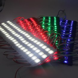 Wholesale 1000pcs LED Injection Molding MODULE Waterproof Warm White Pure White Red Green Blue yellow Light for DC V