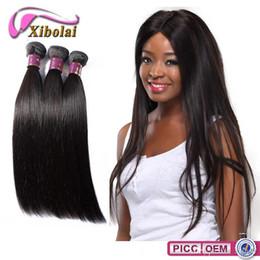 Promotion 22 pouces extensions de cheveux longueur Pas cher Remy Hair complets cuticules Extensions de cheveux humains brésiliens __gVirt_NP_NN_NNPS<__ Longueur 8 à 24 pouces Livraison gratuite DHL XBLHair droite