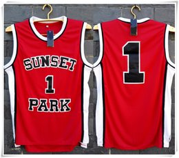 Wholesale Stitched Swingman Fredro Starr Shorty Sunset Park Basketball Jersey Cheap Throwback with brand logo Retro fashion SW jerseys