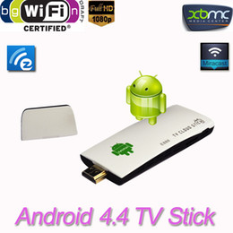 Descuento androide dlna palo de televisión 1080P XBMC Bluetooth 4.0 RK3188T androide 4.4 TV Stick E888 Cuádruple Mini PC TV Dongle 2G / 8GB DLNA Wifi androide stick airplay