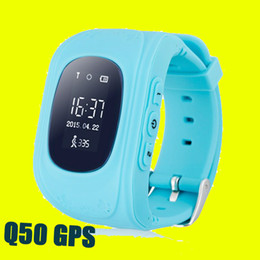 2016 enfants finder 2016 Kid Safe GPS Q50 enfant montre Smart Watch SOS Appel Location Finder Locator Tracker Smartwatch Pour Kid Enfants DHL OTH240 gratuit enfants finder offres