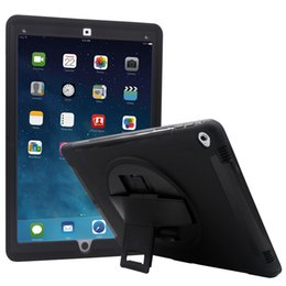 Wholesale ipad pro case For Ipad pro case inches PC TPU tern degree rotating Single shoulder strap Shockproof Dustproof UNBreak ipad cover
