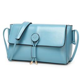 Wholesale famous brands designer Leather bag women best quality fresh candy color lady Handbags girls messenger bags Z M0648