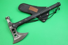 Wholesale Solid SHOOTEY AXE Stone Wash Fine cast Hatchet and Axe Multifunction Nylon Fiberglass Handle Tomahawk Hammer Tool For Outdoor Camping Hiking