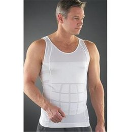 70pcs Sexy Girdles Body Shapers Comfortable Belly Shaper New For Men Slimming Shirt Elimination Of Male Beer Belly Men Body Shapewear D716