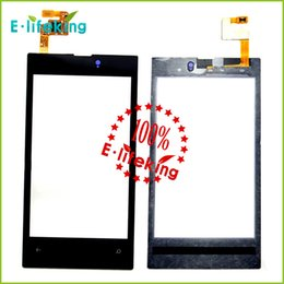 Wholesale High Quality touch screen for Nokia lumia touch screen digitizer touch panel touchscreen Black