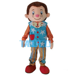 Fancytrader Real Pictures Deluxe Mr Tumble Mascot Costume Free Shipping