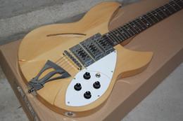 ALLNEW 12-string electric guitar wood color complex chord
