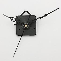 Compra Online Relojes de cuarzo piezas-Nuevos manos negro DIY del reloj de pared de cuarzo Movimiento del cabezal de partes del mecanismo de reparación ENVÍO GRATIS