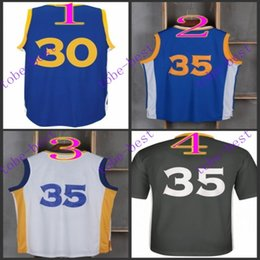 Wholesale stephen curry royal kevin durant Cheap Rev Basketball Jerseys Embroidery Sportswear Jersey S XL