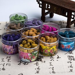 Wholesale Chinese Authentic Pure Natural Health Incense Fragrance Series backflow Smoke Incense Fow Hollow particle concept of a box of tablets