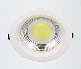 Wholesale Hot Sale Super W W W Warm Pure Cold White Thin Concealed Installation Imported Led COB Led Down Light White shell AC85 V