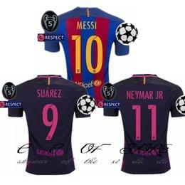 Wholesale 16 Barcelona jerseys A INIESTA SUITEZ MESSI NEYMAR JR jerseys Thai Quality Home