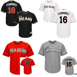 Wholesale 2015 New Arrival Kids Miami Marlins Jose Fernandez Jersey Youth Embroidery logo Authentic Baseball Jerseys S XL