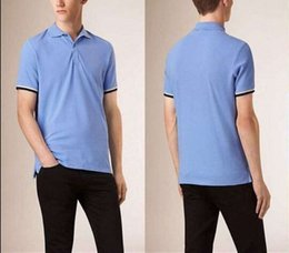 Wholesale hot classic men England summer cotton polo shirts top quality designer man casual polo shirt england style patch work on sleeve shirt BP1533