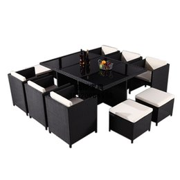 Wholesale dining table chair hotel furniture PE rattan wicker sofa set wicker furniture Garden patio furniture outdoor furniture kitchen furniture set