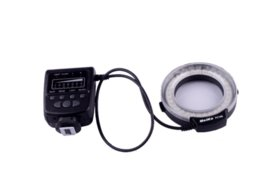 Meike flash de la cámara en venta-FC100 Meike LED de luz de flash anular macro para Canon 650D 7D 60D 50D DSLR 5DII la cámara del envío libre