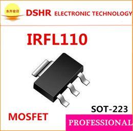 Wholesale IRFL110TRPBF IRFL110TR SOT223 IRFL110 N Channel V A mOhms MOSFET Channel