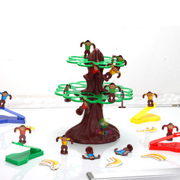 Tree Top Jumping Monkeys Game - Traditional Family Games Educational Toys Board Games Tree Happy Jumping Monkey
