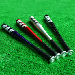 Wholesale 25 Inch Aluminum Alloy Lightweight Baseball Bat Softball Bat Silver Red Blue Black