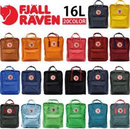 Wholesale 2016 spot Fjallraven Mini arctic fox Classic backpack and waterproof bag capacity L