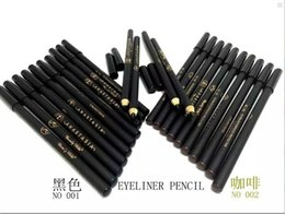 Wholesale lowest price New Arrivals makeup extra waterproof eye liner pencil black brown