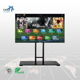 Wholesale TV Floor Stand with Universal TV Mount Suitable For Good quality Glass stand TV Cabinets TV furniture