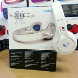 Wholesale 50 Cent SMS Audio Wired Headphones Noise Cancelling Gaming Bike Headset DJ Apple Iphone Earphones cent STREET Headphone Factor