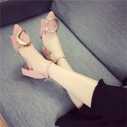 High Heels Sexy Pointed Toe Ladies Wedding Shoes Chunky Heel Sexy Ankle Strap Shoes Woman High Heel Designer Shoes Sexy Wedding Pumps