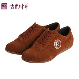 Wholesale Chinese cattle imitation velvet super durable beef tendon Ms practise tai chi shoes Martial arts kung fu shoes shoes