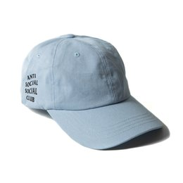 Wholesale HOT fashion Anti Social Social Club Panel Baseball caps strapback golf sports mens embroidered Travis Scotts Cap snapback hats