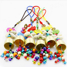 Wholesale Retro Wind Belling Charms Decor Wind Chimes Metal Craft For Home Garden Decorate Hanging Decorations