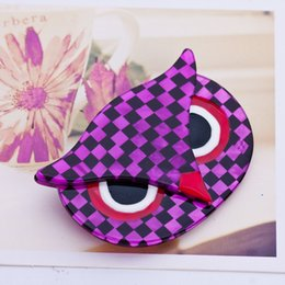 Wholesale New Arrival Fashion Athena The Owl Head Pin Big Owl Brooches For Wedding Bouquet Vintage Wedding Hijab Scarf Pin Up Buckle femininos Broches
