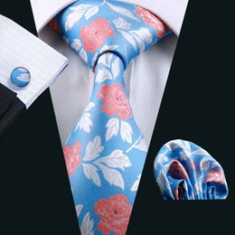 Mens High Quality Fashion Silk Men Blue Neck Tie Classic Ties For Men Neckties Jacquard Corbata N-0245