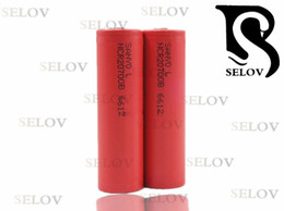 The thermal ecig SANYO 20700b is available in rechargeable battery cycles, 4250mah, 3.7V Li ion batteries, flat top vape