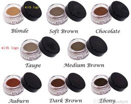 Wholesale 2016 Hot Item Anastasia DIPBRO Pomade Medium Brown Waterproof Makeup eyebrow g Blonde Chocolate Dark Brown Ebony Auburn Medium Brown TALPE