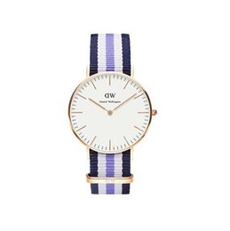 Wholesale DW watch Europe and the United States luxury Oxford canvas with DW Daniel the same model of ultra thin watch factory source supply